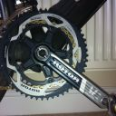 Cervelo/Rotor BBRight cranks - to be replaced with THM Claviculas with TA Specialites Hegoa rings